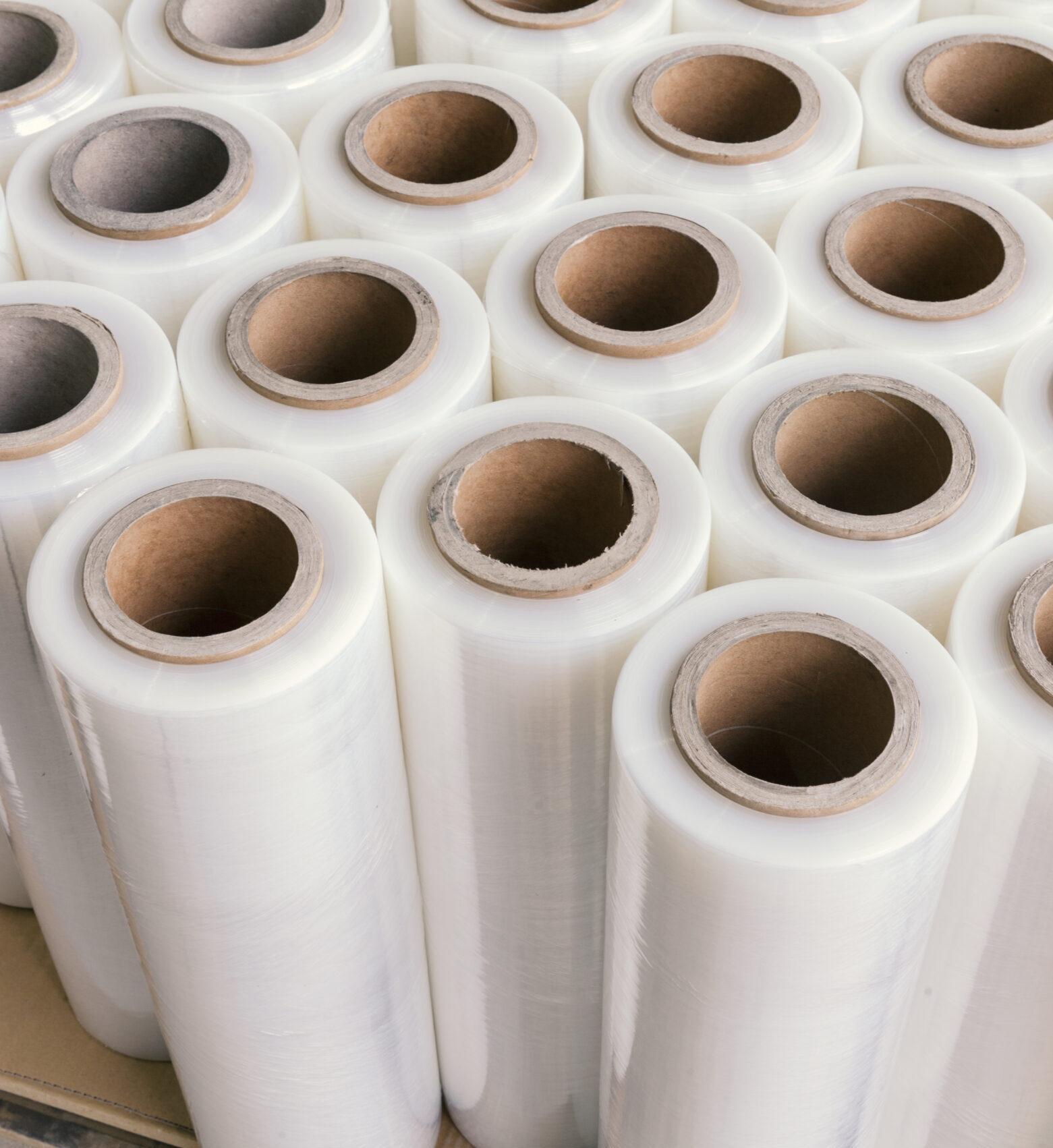 some white foil tubes